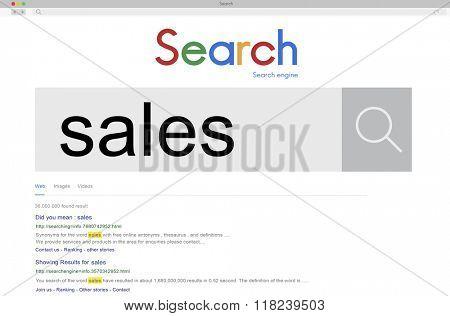 Sales Income Profit Selling Commerce Revenue Sell Concept