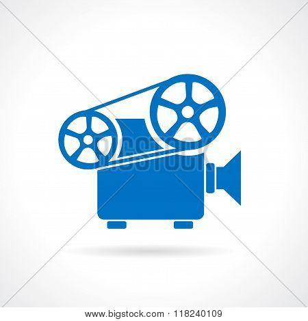 Retro projector icon