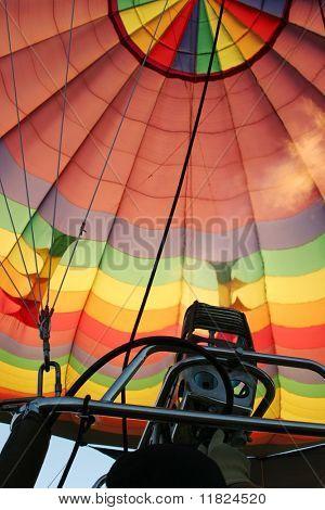 Preparing to take off