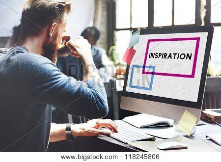 Inspiration Imagination Motivation Encourage Inspiring Concept