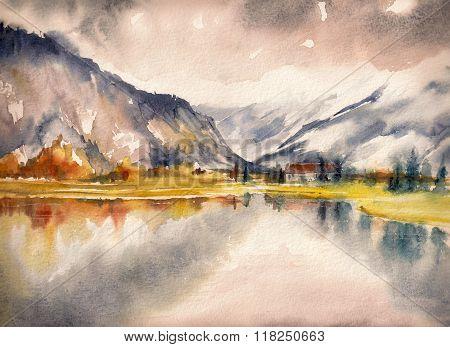 Autum lake