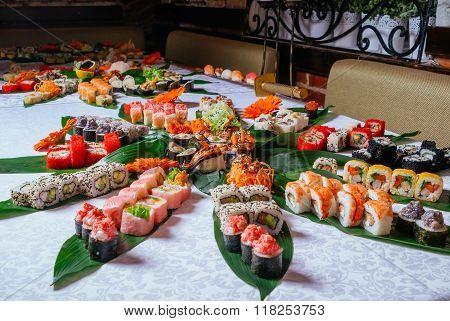 Big Set Of Sushi Maki