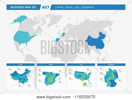 Business map set 7