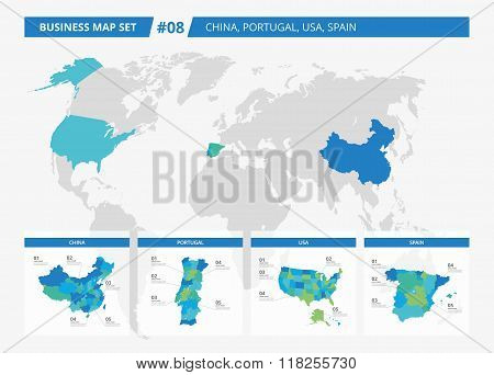 Business map set 8
