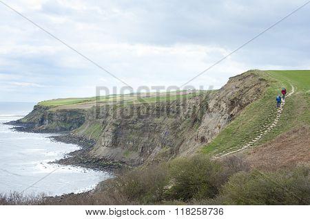 Footpath Along Coastal Cliffs