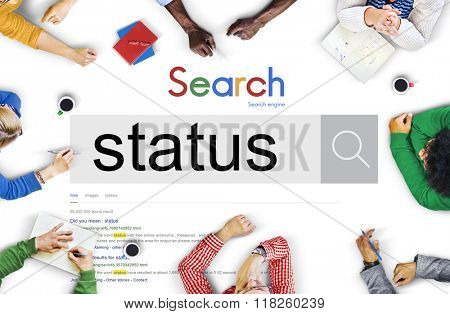 Status Position Situation Circumstance Condition Concept