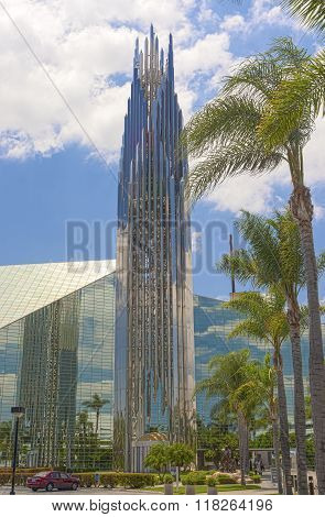 The Crystal Cathedral Church As A Place Of Praise And Worship God In California