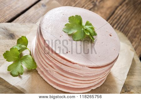 Mortadella Slices