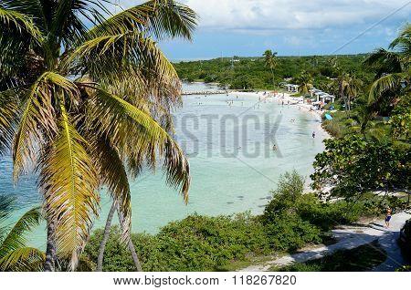 Bahia Honda Beach Bay in Florida