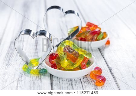 Gummi Candy (worms)