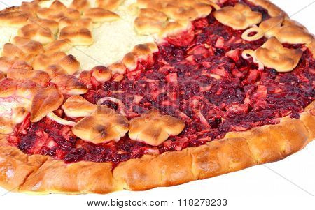 Apple And Berry Cheesecake