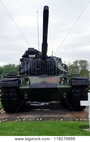 M-48 Patton US Army Tank