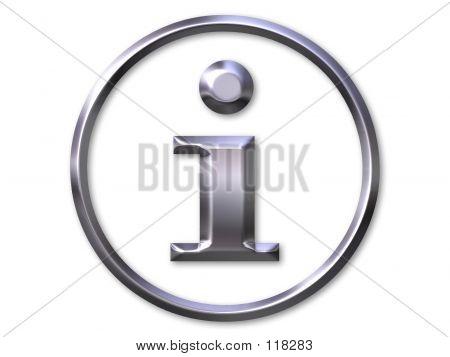 Símbolo de informações