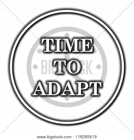 Time To Adapt Icon