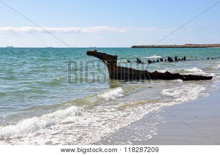 SS Wyola Shipwreck: CY O'Connor Beach
