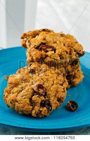 Oatmeal-walnut Cookies
