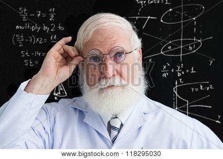 Mature scientist