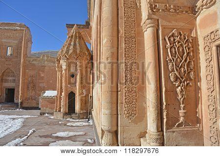 Palace Ishak Pasha Courtyard