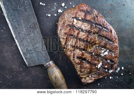 Dry Aged Barbecue Entrecote Double