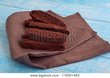 Delicious Dessert Chocolate Biscotti