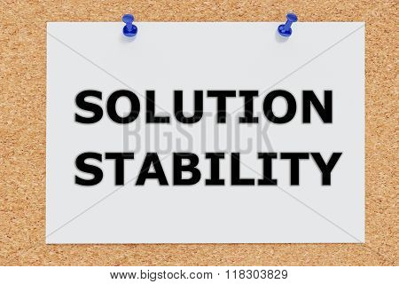Solution Stability Concept