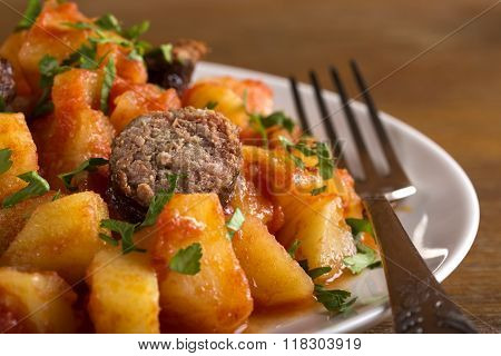 Potato And Sausage Dinner