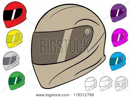 Sport crash helmet