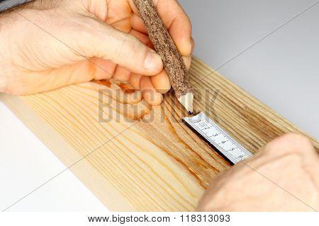 Writing On Wood