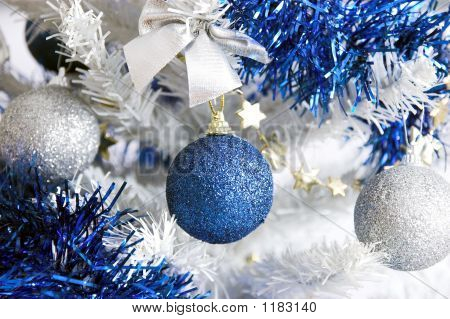 Christmas Tree With Ornaments Balls