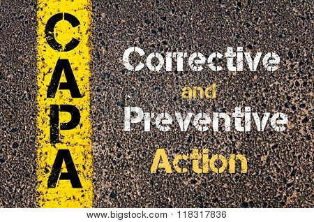 Business Acronym Capa Corrective And Preventive Action