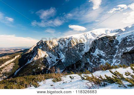 Mountains Inspirational Winter Landscape, Tatra Poland