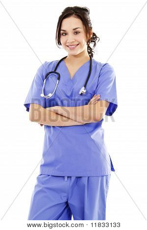 Female Medical Worker