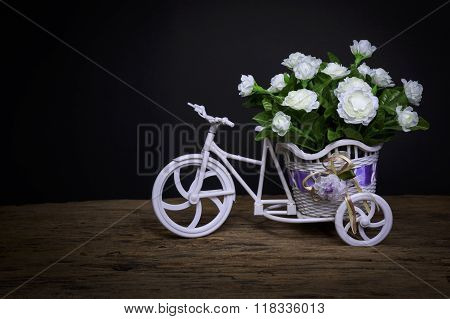 Flowers In Tricycle