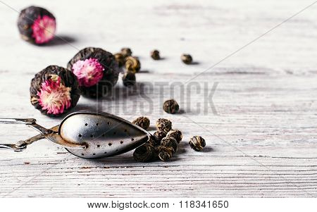 Flavored Blooming Tea