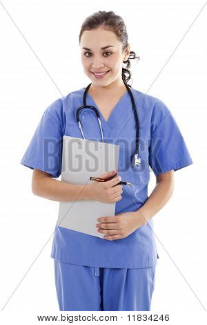 Female Medical Worker