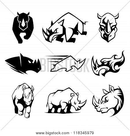 Rhinoceros Symbol