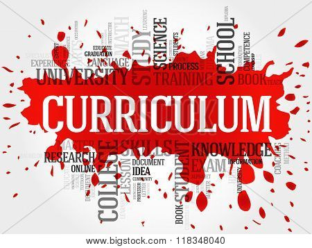 Curriculum Word Cloud