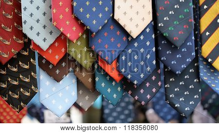 Different Neckties For Sale