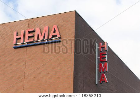 Hema Letters On Wall