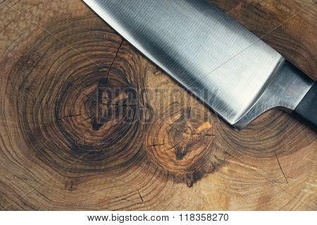 Knife - chopping board