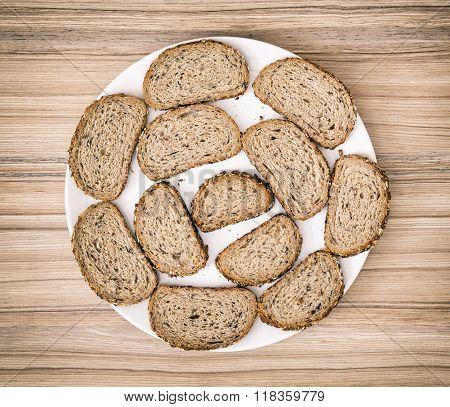 Sliced Wheaten Bread, Food Theme