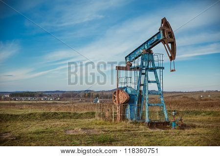 Oil pump oil rig energy