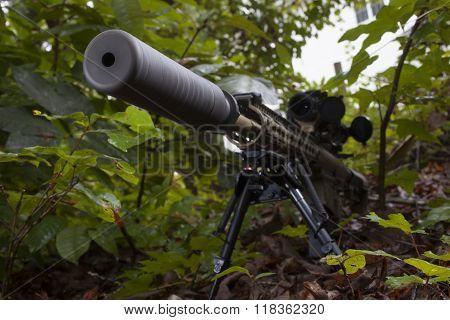 Quiet Rifle