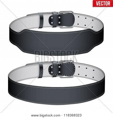 Mockup Weightlifting GYM Belt