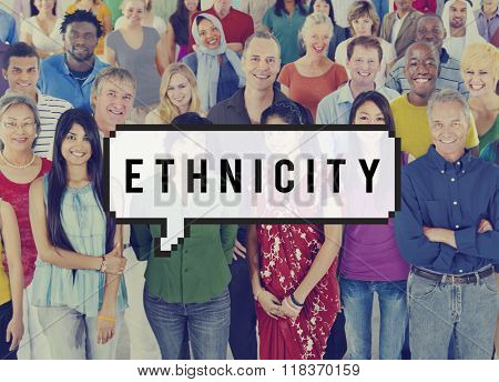 Ethnicity Ethnic Ethics Diversity Humanity Concept