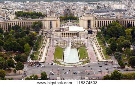 Trocadero, Paris, France