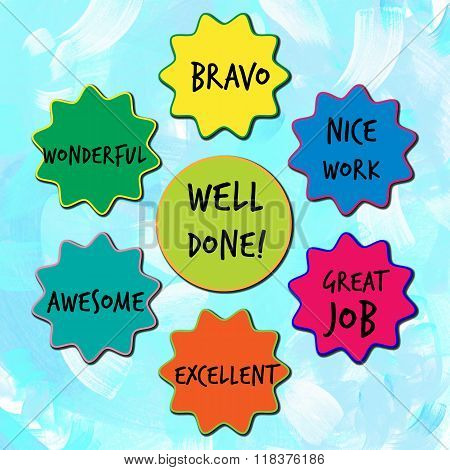 Well done appreciation messages for children