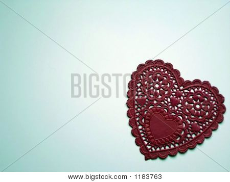 Lacey Red Heart