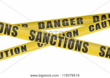 Sanctions Concept