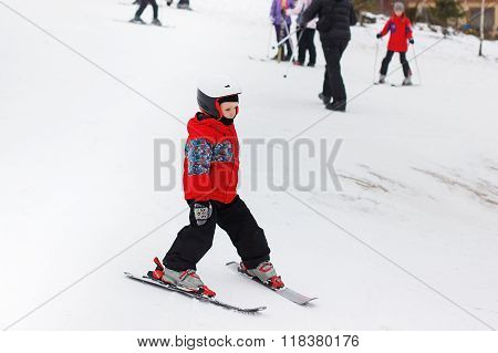 Winter Holidays. Skiing